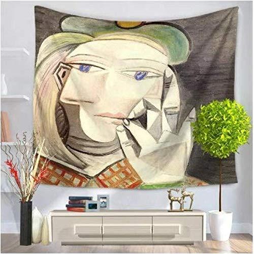 WAXB Tapiz Arlequín Mandala Personalizado Tapiz Arte Decoración del Hogar Cortina, Mantel, Dormitorio, Habitación, Decoración del Hogar, Regalo, 51 X 59 Pulgadas
