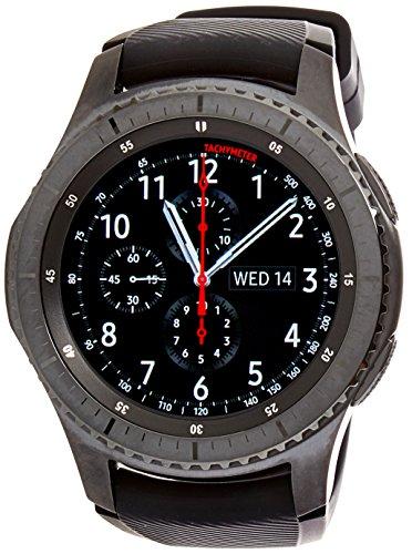 Samsung Gear S3Frontier-Reloj Inteligente, Color Gris Oscuro (Importado) [Versión importada: Podría presentar Problemas de compatibilidad]