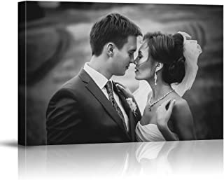 SIGNFORD Custom Canvas Prints, Wedding Photos Personalized Poster Wall Art with Your Photos Framed Digitally Printed - 8