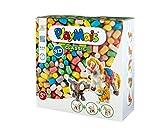 PlayMais 3D Domestic Animals Bastel-Set für Kinder ab 5 Jahren | Über 900 Stück & 3 Tierfiguren aus Pappmaschee zum Bekleben und Basteln | Fördert Kreativität & Feinmotorik | Natürliches Spielzeug