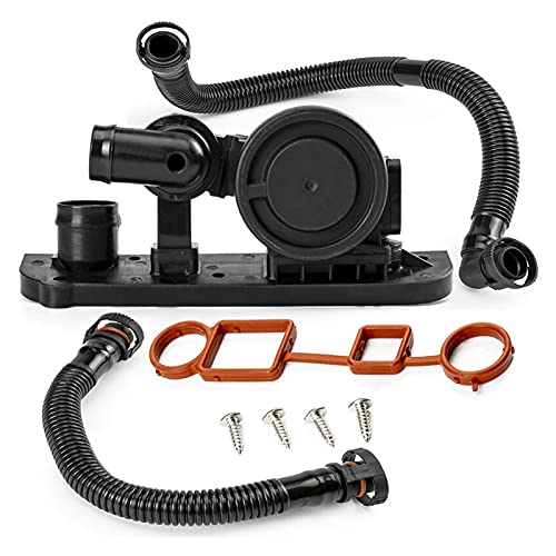 PUGONGYING Popular Conjunto Completo de la válvula de ventilación del cárter PCV Hose 06F103235 Ajuste para Audi A4 A3 A6 TT A1 para FIT VW para Asiento para Skoda 06F129101P 06F103483E Durable