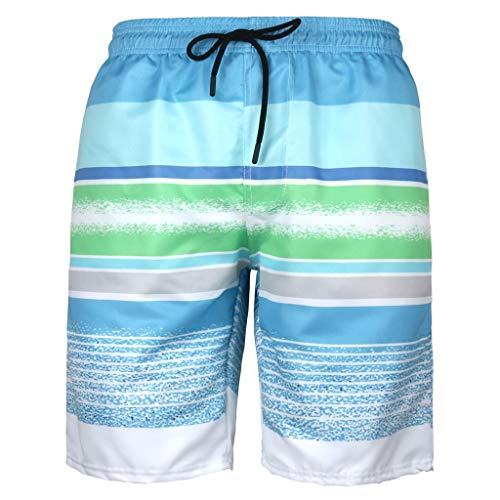 Aoogo Herren Sporthose Strandhose Kurz Hose Badeshorts Für Männer Drawstring Shorts Sporthose Sommer Badeshorts Jogginghose Urlaub Badeshorts Freizeithose
