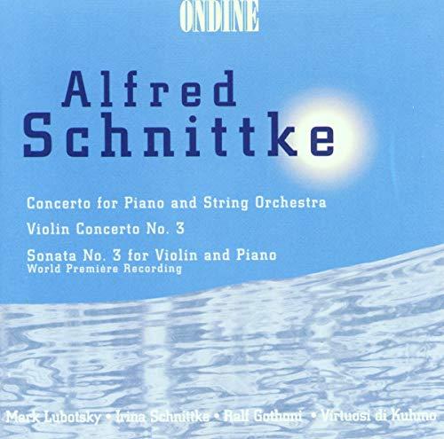 Schnittke Konzert für Klavier und String
