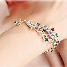 RENYZ.ZKHN Fashion Sieraden Kleurrijke Glanzende Diamanten Armband Diamant Sieraden Edelsteen Armband