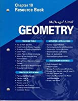 McDougal Littell - Geometry - Chapter 10 Resource Book 061802073X Book Cover