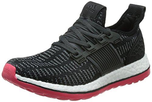 adidas Damen Pureboost ZG Prime W Laufschuhe, Schwarz Rot schwarz Grpudg rot_imp, 36 EU