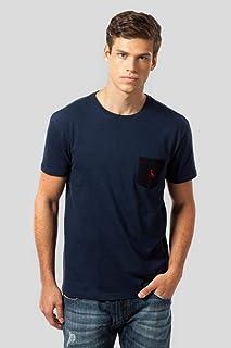Camiseta Mr Bolso Pt Pica-pau Bordado Reserva