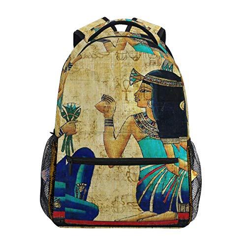 College Bag Antiguo Egipto Arte Pintura Mochila Regalo del E