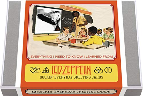 Everything I Need to Know I Learned from Led Zeppelin - Everyday Boxed Cards: 12 Rockin' Everyday Greeting Cards