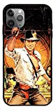 GIDUN Case Compatible with iPhone 7 Action Film Series Fantasy Indiana Jones Movie Adventure Satipo Pure Clear Glass Phone Cases Cover Full Body