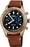 Oris Carl Brashear Cronografo Limited Edition Bronzo Orologio 01 771 7744 3185 Set LS