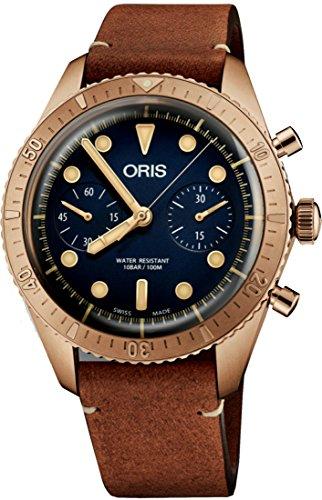 Oris Carl Brashear Chronograph Limited Edition Bronze Watch 01 771...