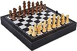 SCRT Ajedrez Ajedrez Conjunto de ajedrez, ajedrez Juego de ajedrez 13'x 13', ajedrez con Tablero de ajedrez, Piezas de ajedrez, Caja de Almacenamiento, Juego de ajedrez Juego de ajedrez
