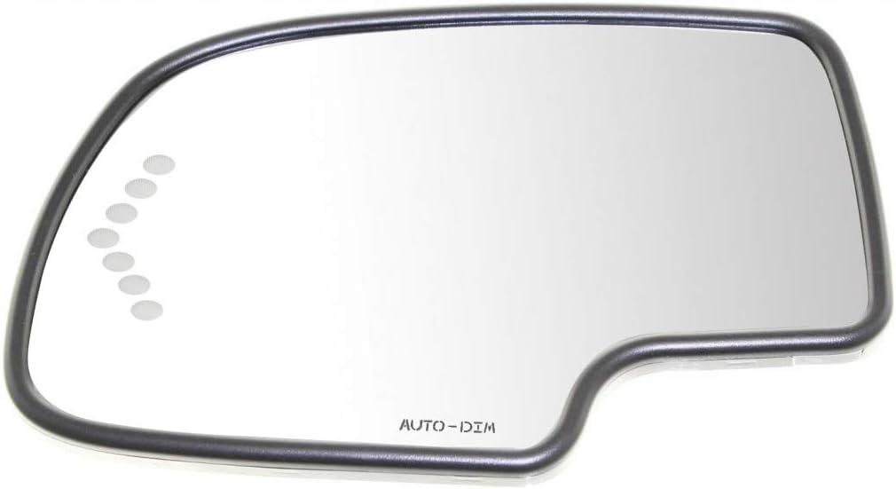 For GMC Sierra 1500 HD 2500 Mirror 2006 Daily bargain sale Dr Glass 2003 List price 05 04
