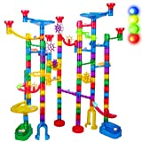 Marble Run Sets for Kids - 142Pcs Marble Race Track Marble Maze Madness Game...