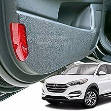 KMPtrade Felt Inside Door Shield Cover Scratch Kick Protector for Hyundai 2016-18 Tucson