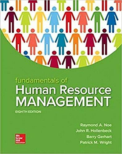 Fundamentals of Human Resource Management -  Noe, Raymond, Hardcover