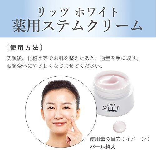 リッツホワイト薬用ステム美白クリーム30g【医薬部外品】
