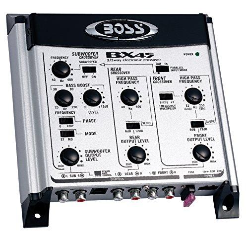 Boss - Audio BX45 : Filtre Actif 2-3 Voies