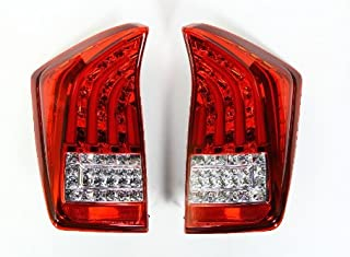 Valenti Jewel LED tail lamp Prius (ZVW30) Red / chrome TT30PRI-HC-1