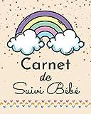 Carnet de suivi Bébé: Journal de bord pour suivre l'évolution du nouveau-né...