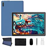 ZONMAI MX2 Tablet 10.1 Pulgadas Android 10.0 | Tableta 5G WiFi Ultrar-Rápido Quad-Core 1.6GHz 4GB RAM + 64GB ROM | 8000mAh Bluetooth 5.0 GPS Type-C Google GMS Teclado y Ratón - Azul