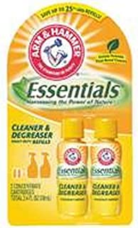 Church & Dwight Arm & Hammer 32350 Concentrated Degreaser Refill, 2.4 oz, Twin Pack,
