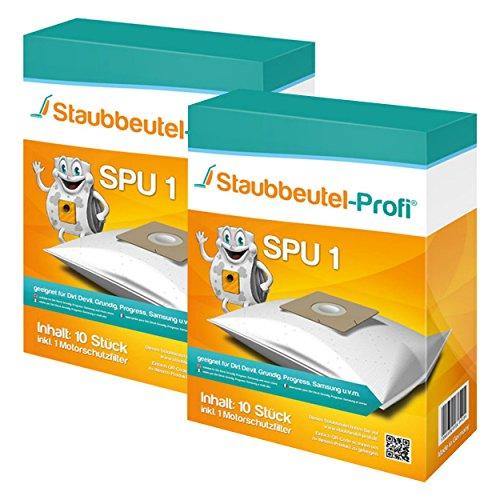 20 Staubsaugerbeutel geeignet für Severin Severin SB 7218 von Staubbeutel-Profi®