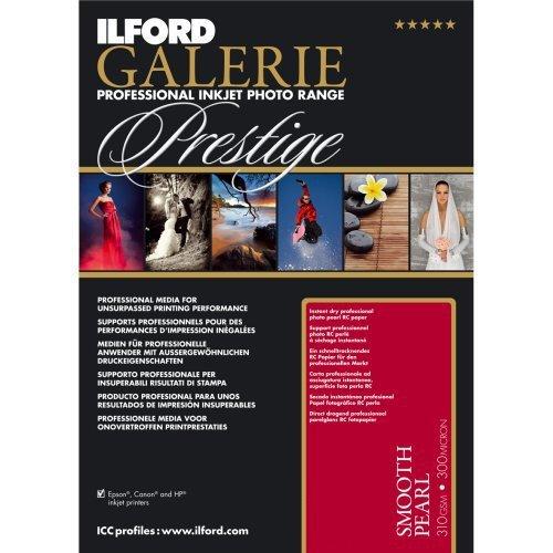 Ilford Prestige Smooth Pearl Perle Papier Fotos–Papiere Fotos (Perle, 25Blatt, 21x 29,7cm)