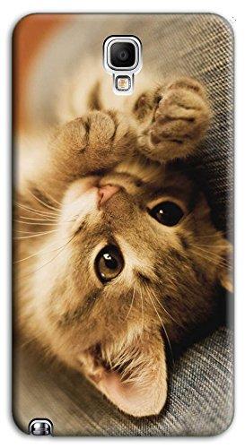 Mixroom - Cover Custodia Case in TPU Silicone Morbida per Samsung Galaxy Note 3 III Neo N7505 M618 Cucciolo di Gattino