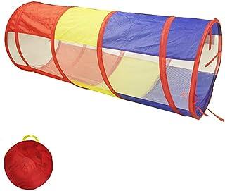 Baby tipi tält barntält tunnel veck bärbar borrhål rör klättring magisk baby leksak rum rör solljus krypa tunnel leksak fö...