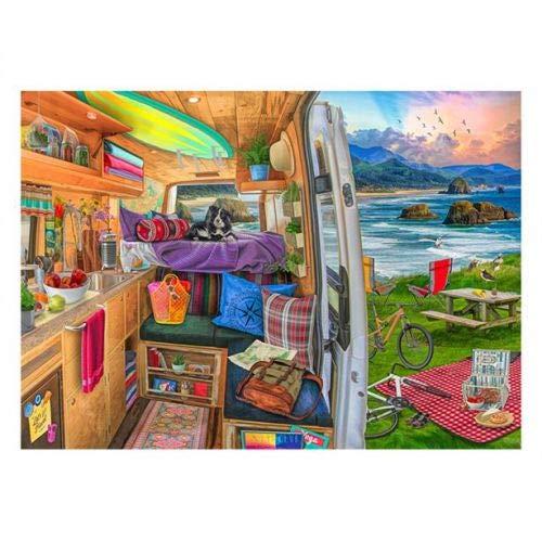Ravensburger Life on The Road Puzzle 1000 Teile Fantasy, Puzzle für Erwachsene
