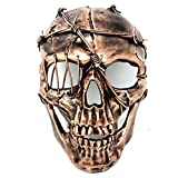 Storm buy New Steampunk Style Metallic Scary Horror Skeleton Mask for Halloween Costume Cosplay Party (Copper)