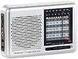 auvisio Transistorradio: Analoger 9-Band-Weltempfänger mit FM, MW & 7X KW, Jackentaschen-Format (Kurzwellenradio)