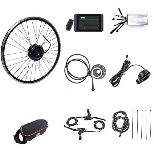 Kit de conversión de bicicleta eléctrica Motor de rueda delantera 1000 W...