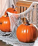 Large Foam Pumpkin for Carving and Crafts - Halloween and Fall Home Decorations
