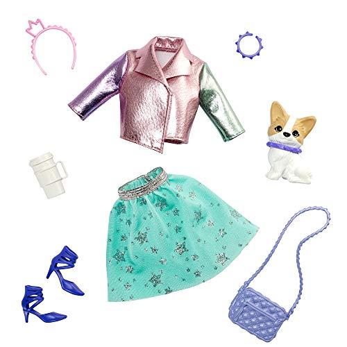 Barbie- Princess Adventure, Kit con Vestito, Scarpe e Accessori,Giocattolo per Bambini 3+ Anni, GML65