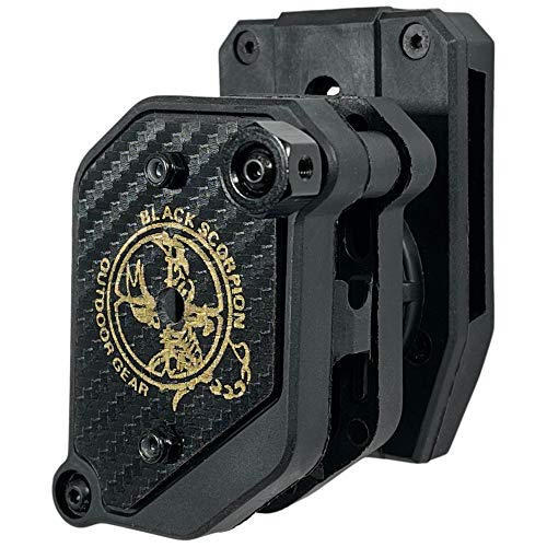 Competition Magazine Pouch Single/Double Stack, Ambidextrous IPSC, USPSA Approved