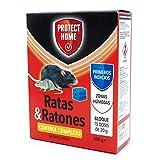 Raticida en bloque de alta eficacia y potente atracción, indicado para zonas húmedas. Veneno para ratas y ratones.