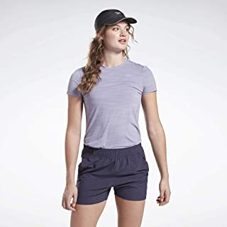 Reebok Women's One Series Short Sleeve ActivChill T-Shirt, Violet Haze