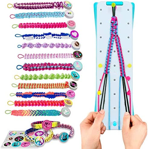 VERTOY Friendship Bracelet Making Kit for Girls Cool Arts and Crafts Toys for 6 7 8 9 10 11 product image