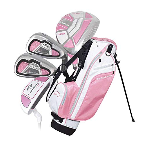 Ray Cook Golf Manta Ray 6 Piece Girls Junior Set with Bag (Ages 6-8) Pink