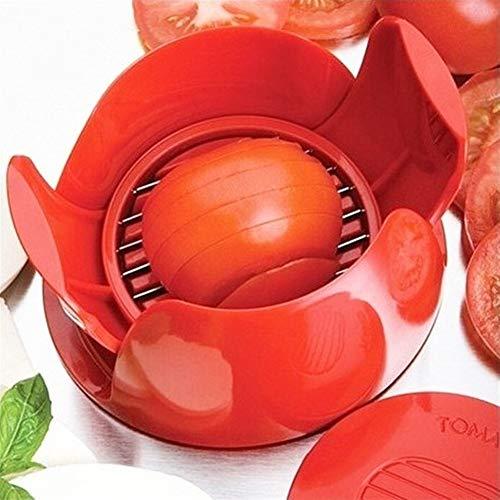 Cortador de verduras y frutas de cocina, 1 unidad, tomate, cebolla, tomate, mozzarella, cortador de frutas, cortador de frutas, cortador de pelador