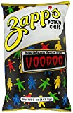 Zapp's New Orleans Kettle-Style Potato Chips, Voodoo Flavor – Crunchy Chips with a Spicy Kick, Great for Lunches or Snacking on the Go, 5 oz. Bag (Pack of 12)