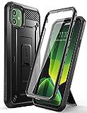 SupCase Funda iPhone 11 [Unicorn Beetle Pro Serie] 360 Carcasa Antigolpes Case con Clip de Cinturon y Protector de Pantalla Incorporado (Negro)