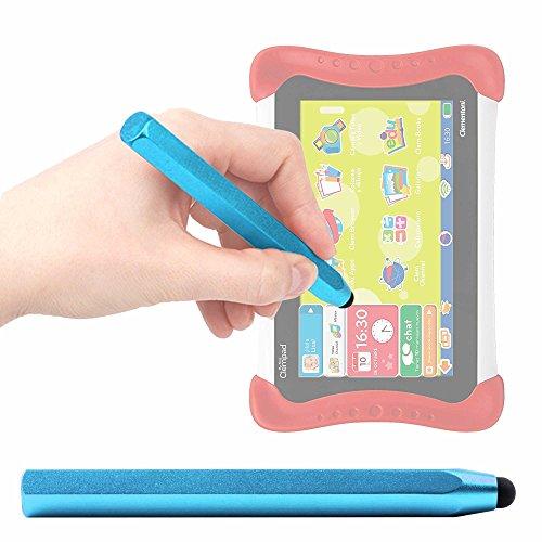 DURAGADGET Pennino Stylus Capacitivo Blu per Clementoni ClemPhone 7.0-16601 | Il Mio Primo Clempad 7' - 16602 | Clempad 8' – 16603 | Il Mio Primo Clempad 7' Plus - 16604 | Clempad 8' Plus - 16605