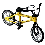 Yiyer Mini Modelo de Dedo de Bicicleta Excelentes Juguetes en Miniatura Funcionales Mini Deportes Extremos Bicicleta de Dedo de Juguete Juego Creativo de Juguete para Colecciones