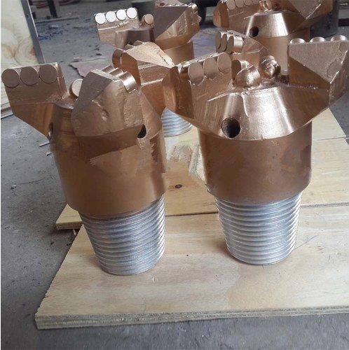 Gowe 133mm 3Flügel ganze Stück PDC Bohrer für Sandstein Bohren mit 1–4Wasser Löcher