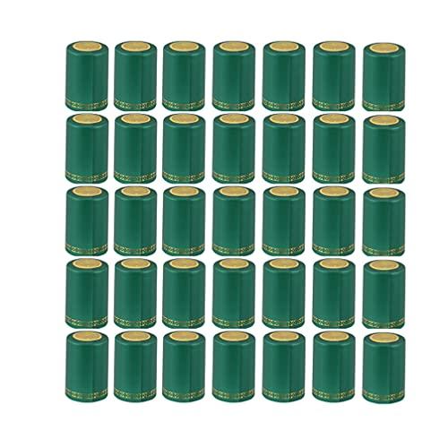 jojofuny 200 Unidades de Cápsulas Termorretráctiles para Envolver Botellas de Vino Cápsulas para Envolver Botellas de Vino Tapas para Botellas de Vino con Tapa Antipolvo para Uso Doméstico