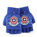 Greneric Kinder Handschuhe Avengers Alliance Iron Man Spider-Man Hulk Black Panther Captain America Kind Winterhandschuhe Spider-Man70084rot